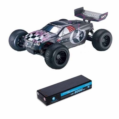 sparrowhawk xxt rc truggy 4wd rtr brushless rc auto 2 4ghz. Black Bedroom Furniture Sets. Home Design Ideas