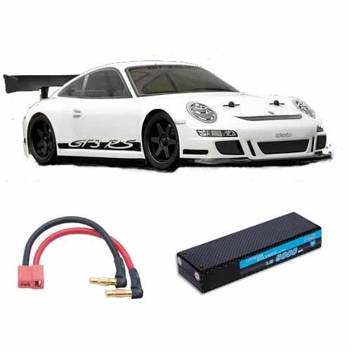 hpi sprint 2 flux porsche 911 gt3 rtr 2 4ghz rc auto. Black Bedroom Furniture Sets. Home Design Ideas